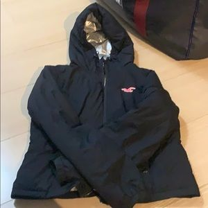 Hollister jacket. Negotiable price tag.